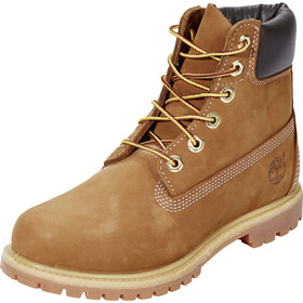 "Timberland Icon Collection Premium Boots Women 6"" Rust Waterbuck"